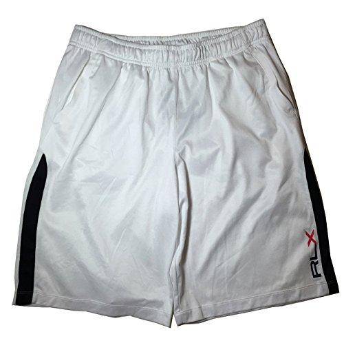RLX Polo Ralph Lauren Men's White XL Basketball Running Shorts