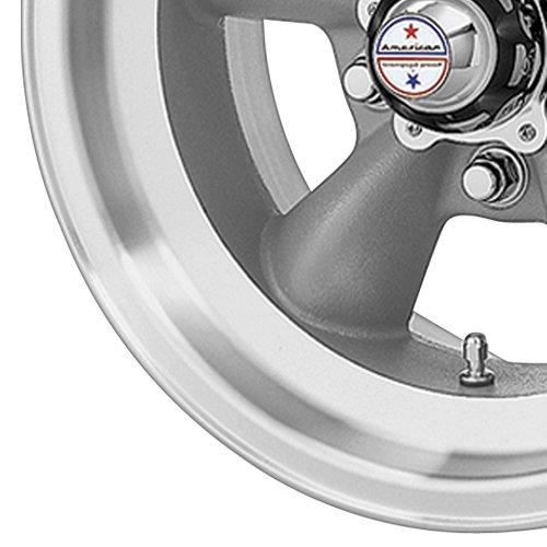 American Racing Hot Rod Torq Thrust D VN105 Torq Thrust Gray Wheel with Machined Lip (14x6''/5x4.5'') by American Racing (Image #2)