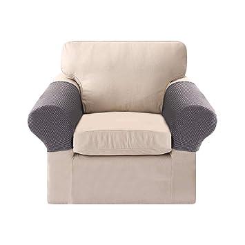 Fundas de reposabrazos para sillones, sofás, elásticas ...