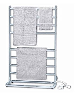 Jerdon WHC Warmrails Hyde Park Family Size Floor Standing Towel Warmer, 39-Inches