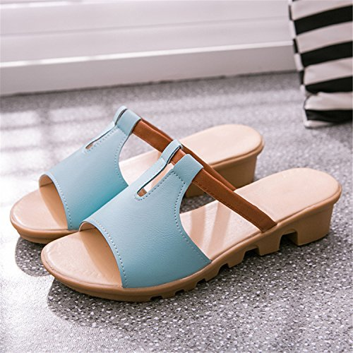 Gerald Fashion Slippers Wedges Women Pink Casual Shoes Flops Mujer Slides Sandals Women Women Flip Breathable Choi Sandals Sandalias rvrnqxS