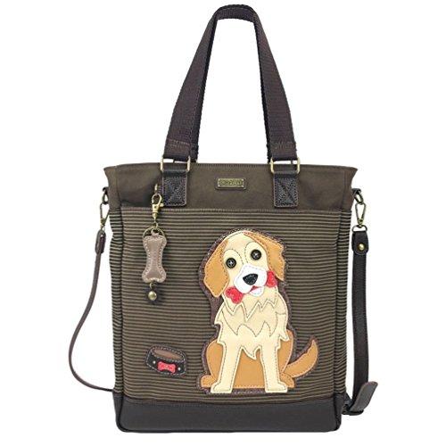 (Chala Golden Retriever Work Tote Shoulder Bag - Dog Lovers Gifts)