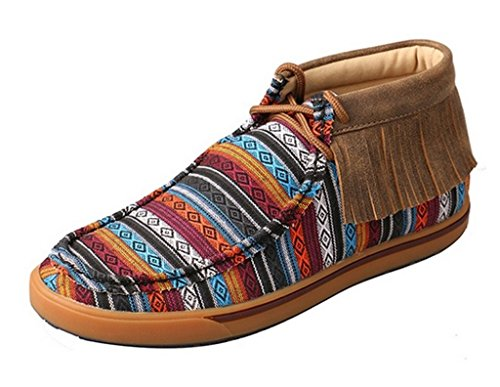 Twisted X Casual Shoes Womens Driving Moc 7 M Multi-Color WCA0021