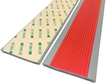 Zeyue - Tira antideslizante para escalera de exterior de PVC autoadhesiva, tira antideslizante para escaleras, tira antideslizante para exteriores, cinta antideslizante: Amazon.es: Bricolaje y herramientas