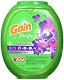 Health & Personal Care : Gain Flings Moonlight Breeze Laundry Detergent Packs, 81 Count