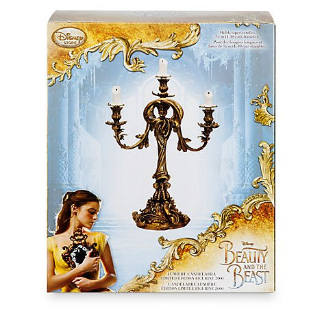 Disney Lumiere Limited Edition Candelabra - Beauty and the Beast - Live Action Film by Disneyland Paris (Image #5)