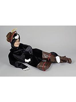 El gato con botas de disfraces para Carnaval escolar diseño de ...
