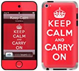 GelaSkins Protective Skin for iPod Touch 4G with Access to Matching Digital Wallpaper Downloads - Keep Calm