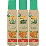 Citrus Magic Organic Odor Eliminating Air Freshener Spray, Pack of 3, 3.0-Ounces Each