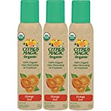 organic air freshener - Citrus Magic Organic Odor Eliminating Air Freshener Spray, Pack of 3, 3.0-Ounces Each