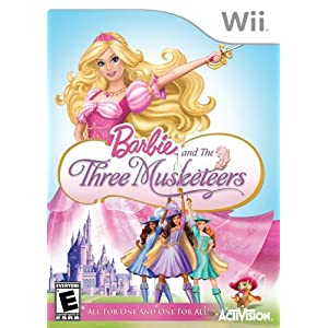 Barbie and the Three Musketeers - Nintendo Wii