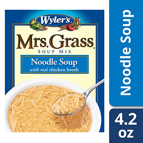 Mrs Grass - Mrs. Grass Noodle Soup with Real Chicken Broth (4.2 oz Box)