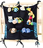 Buy Buy Baby Cribs with Changing Table Keep Baby Room Clean & Tidy w/ Cool Babypeta Stylish Organizer - Hanging Changing Nursery Organiser for Toys, Diapers, Pacifiers & Other Baby Items, Fits Baby Cribs & Changing Tables (blue)