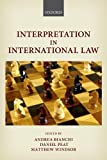 img - for Interpretation in International Law book / textbook / text book