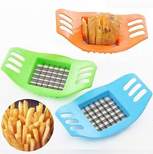 Amazon.com: Dispositivo de corte de papa para el hogar Cortadores multifunción Chips espesar Gadgets de cocina creativos (3 unidades): Kitchen & Dining