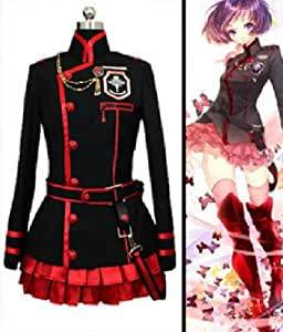 Xcoser Lenalee Cosplay Costume Lee Exorcist Dress for D Gray-Man Cosplay in Medium