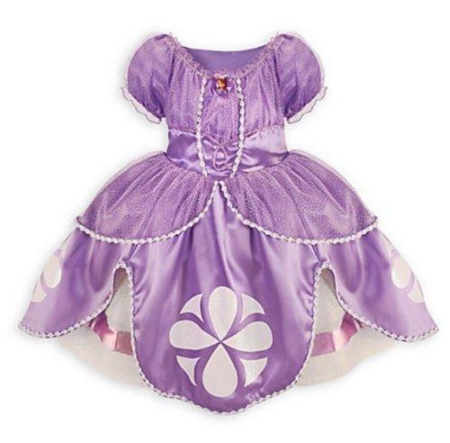 [Disney Store Sofia the First Costume Dress: Size XS 4] (Sofia The First Disney Costumes)