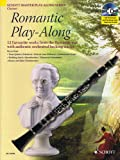 Romantic Play-along Clarinet Book/cd, Hal Leonard, 1847611044