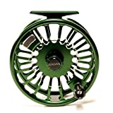 Galvan Torque 5 Fly Reel, Green - with $30 gift card