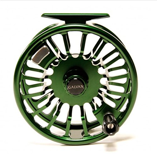 Cheap Galvan Torque 5 Fly Reel, Green – with $30 gift card