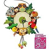 ██ Amazon's Choice ██ ARTIVE Forest Animal Wall Clock DIY Craft ✄ ✄