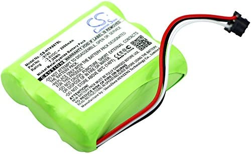 Replacement Battery for hioki 8870-20 LR8431-20 9780 2000mAh