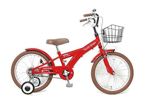 ROLLING RINGS BMXタイプ16インチ子供用自転車キッズ幼児車 ローリ 16インチ チェレスティ B01N6552Y5レッド
