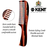 Kent 10T Large Wide Tooth Comb - Rake Comb Hair