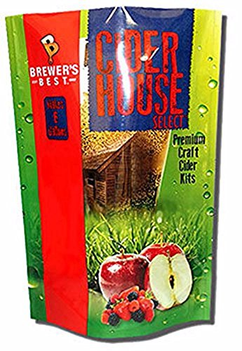 Home Brew Ohio HOZQ8-1365 Brewer's Best House Select Raspberry Lime Cider Kit, Multicolor - Lime Cider