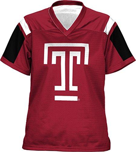 ProSphere Girls' Temple University Thunderstorm Football Fan Jersey (Apparel) Storm Football Jersey