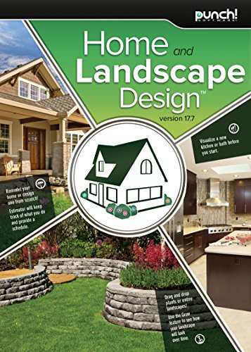 (Punch! Home & Landscape Design 17.7 Home Design Software for Windows PC [Download])