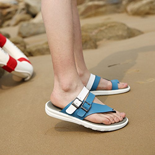 Fashionable On Outdoor amp;W Slip H Flops Flip Blue Summer Mens v5ZH6q6