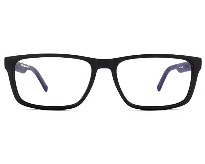 Tommy Hilfiger TH 1404 R5Y 55 Gafas de Sol, Negro (Mtblack ...