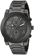 Bulova Men's Quartz Stainless Steel Casual Watch, Color:Grey (Model: 45A124)