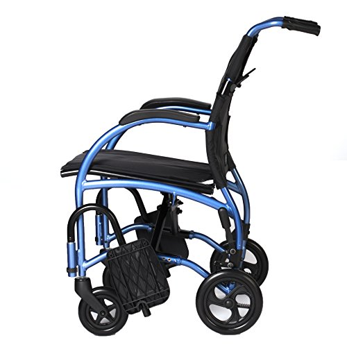 1000 Wheelchair (The Strongback Mobility Wheelchair - Winner of the HME Retail Product award (sponsored by HomeCare magazine), Lightweight Portable Wheelchair for Healthy Posture and a Strong Back-1000)