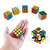 Toys : Mini Color 3x3 Cube Puzzle Game Toy for Party Favors (6 Pack)
