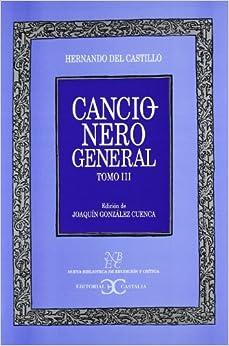 Cancionero general / General Songbook: 3