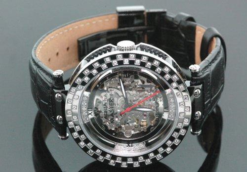 Aqua Master Automatic Round 1.25 ct Diamond Mens Watch by Aqua Master