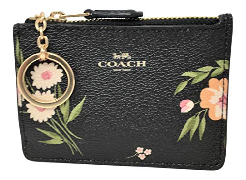 - COACHF73364 MINI SKINNY ID CASE WITH TOSSED DAISY PRINT