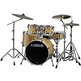 "Yamaha Stage Custom Birch 5pc Drum Shell Pack - 22"" Kick, Natural Wood"