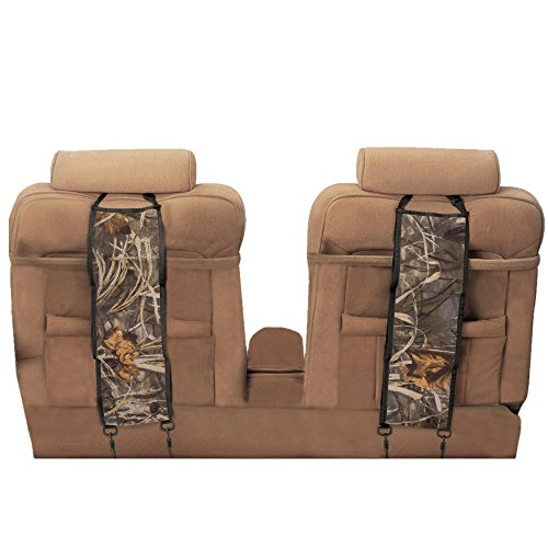 Shootmy Classic Seat Back Pistol Rack, Can Hold 3 Rifles, (Camouflage)