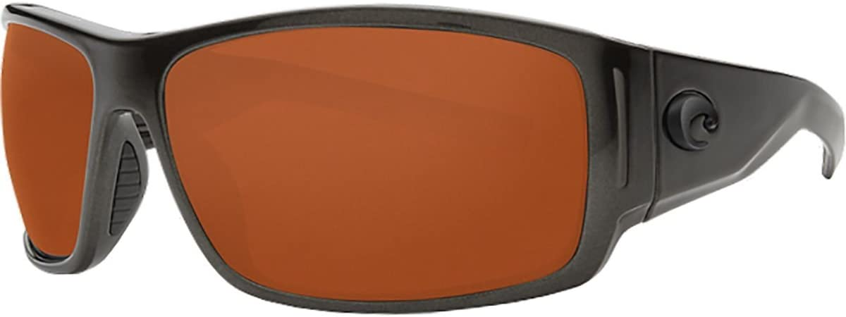 Costa Del Mar Costa Del Mar CAP199OCP Cape Copper 580P Steel Gray Metallic Frame Cape Copper 580P Steel Gray Metallic Frame