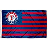 MLB Texas Rangers Nation Flag 3x5 Banner