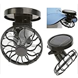 Eco-friend Hat Mini Clip Solar Sun Energy Power Panel Cell Cooling Fan Cooler