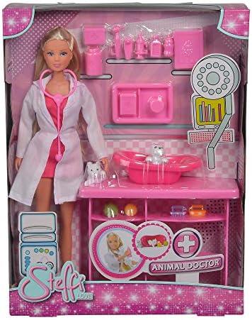 Simba 105737393  Steffi Love Veterinaria Bambola con accessori