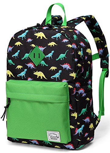 Preschool Backpack,Vaschy Little Kid Backpacks for Boys with Chest Strap Cute Dinosaur) - 3rd Birthday Bag