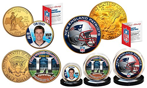 - New England Patriots BRADY '16-17 CHAMPIONS * The Greatest Set Ever Assembled *