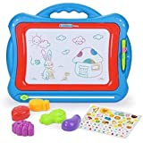 NextX Magnetic Drawing Board Write and Learn Creative Toy ( Blue-Red )