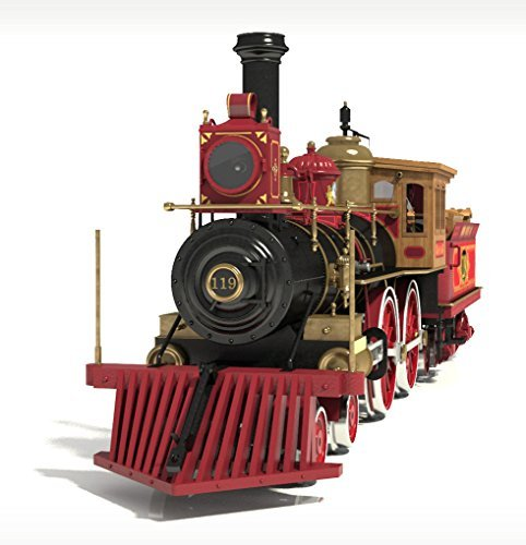 - Occre Rogers Union Pacific 119 Wild West Locomotive 1:32 Scale Model Train Kit by OcCre