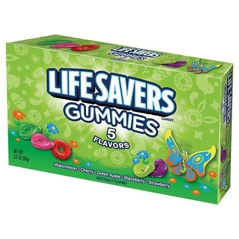 LifeSavers Gummies Spring Mix Flavors 3.5 oz - 4 (Mix Gummy)